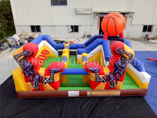 RB09001(5x7m) Inflatable Basketball Sport Game Playground For Sale