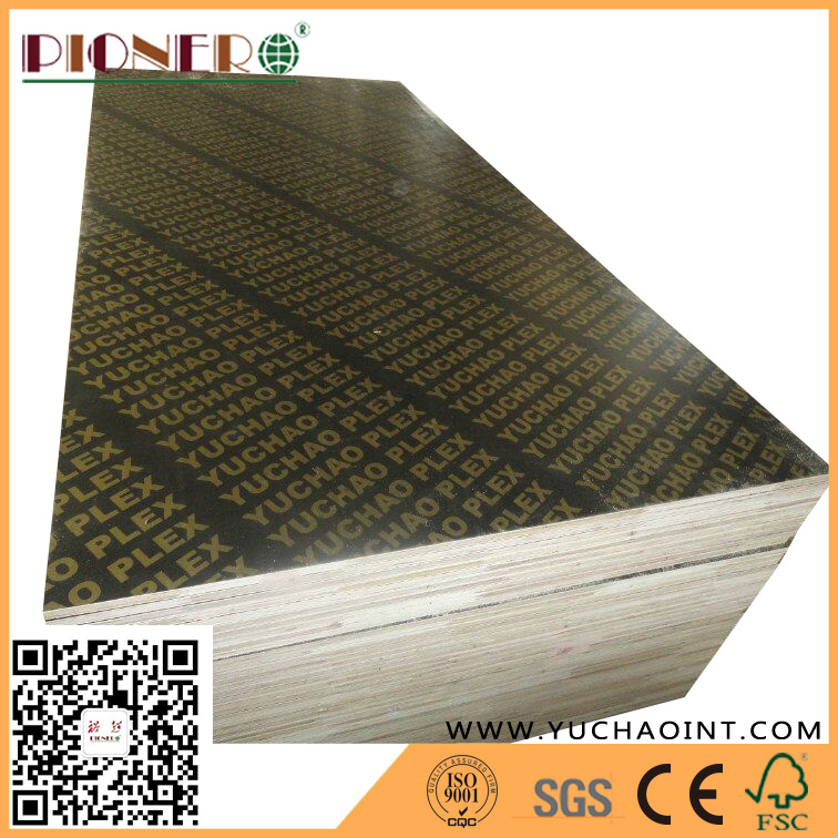 WBP Glue Brown Film Faced Concrete Formwork Plywood