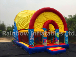 RB6097(9x5.2x6.8m) Inflatable Giant Customized Slide For Kids