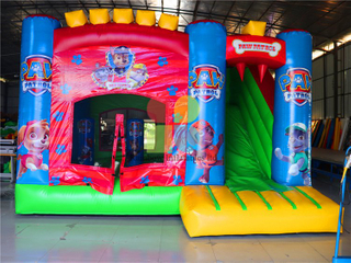 RB2015-5(4.5x5m)Inflatables Amusing Bouncer With Slide For Theme Park