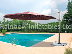 Luxury Roman sun umbrella made in China