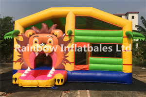 RB3095(4x2.5x2.1m)Inflatables lion theme combo