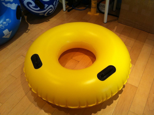 Inflatable Waterpark Tube Swimming Ring Slide Tube Water Tube