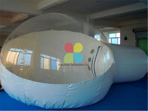 RB41055(dia 4x6m) Inflatable Bubble Tent Inflatable Transparent Tent for sale