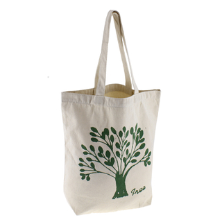Eco-Friendly Natural Cotton Tote Bag