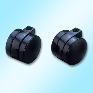 Unhooded Twin-Wheel Castors