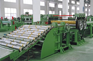 Manufacturer of automatic high speed metal strip coil cut to length machine
