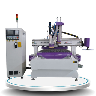 Pneumatic ATC CNC Router Machine with drill Acut-1325D