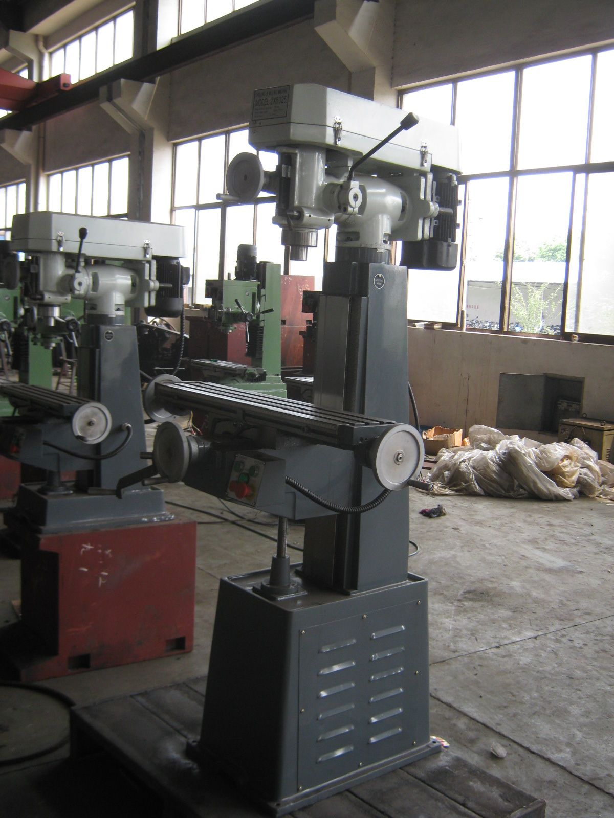 DRILLING AND MILLING MACHINE ZX5025