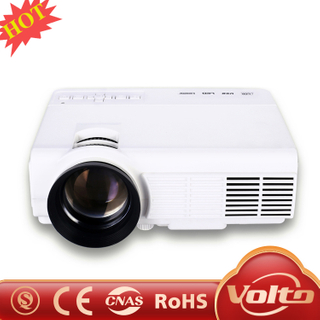 Upgraded 2000 Lumens Projector OEM ODM Factory Native 720p Full HD LED LCD Home Theater Projector