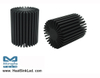 SimpoLED-LUME-5870 Lumens Modular Passive Star LED Heat Sink Φ58mm