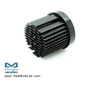 xLED-VOS-4550 Pin Fin LED Heat Sink Φ45mm for Vossloh-Schwabe
