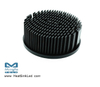 xLED-TRI-8030 Pin Fin LED Heat Sink Φ80mm for Tridonic