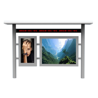 65 inch add 32 inch outdoor Multi Screen free standing LCD Display for advertising