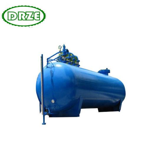 Above Ground Gas Oil Crude Storage Tank Customized Acid and Alkali Storage Tank 1t - 150 Ton