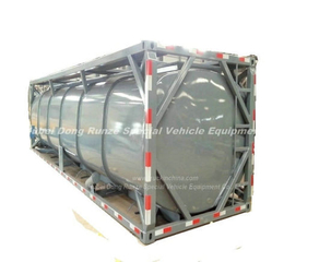Sulfuric Acid Isotank (H2SO4 tank container) 20FT, 40FT 20m3-30m3 for Road Transport Sulfuric Acid 6% Sulfuric Acid 20%Sulfuric Acid 60%Sulfuric Acid 98%