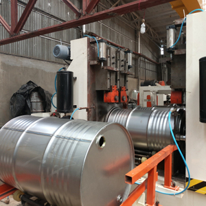 Steel Drum Assembly & Seaming Machine
