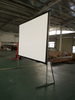 200'' Fast Fold screen 16:9 projector screen for office working