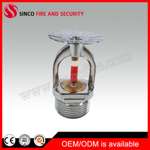 68 Celsius Degree 3/4 Inch Pendent Type Fire Sprinkler