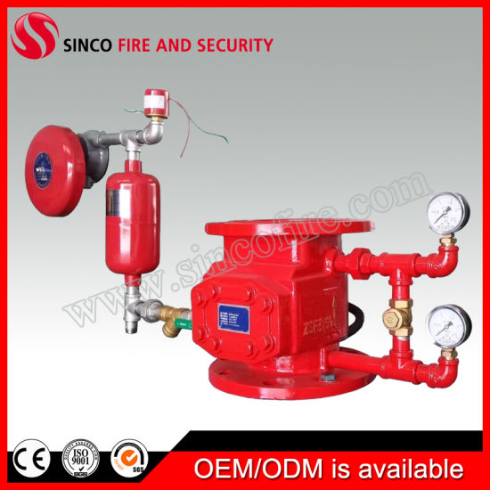 Wet Alarm Valve of Sprinkler System for Fire Fighting Equipment