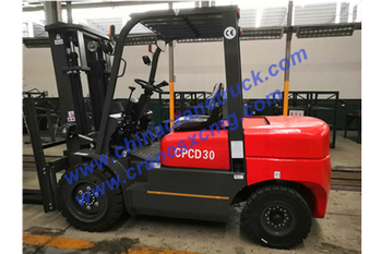 3 ton forklift export to Africa