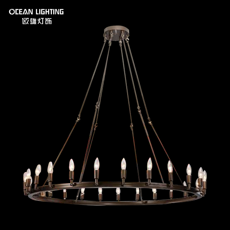 European style Interior Decorating Lights Home Decor Ceiling Lighting Decorative Indoor Chandeliers Pendant Lamp