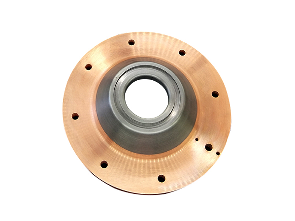 Tungsten copper alloy contact