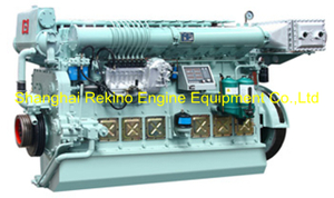 600-816HP Ningbo CSI Ningdong medium speed marine diesel engine (N8170)