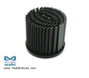 xLED-BRI-6050 Pin Fin Heat Sink Φ60mm for Bridgelux