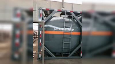 20FT ISO Hydrochloric Acid Tank Container 21cbm (21000 Liters Steel Lined LLDPE) for Vietnam Chemical Factory Acid Trailer Transportation