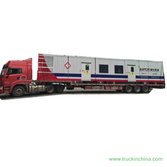 Customize Mobile Molecular Laboratory with PCR System House Shelters Trailer