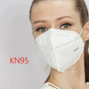 Large stock KN95 Face Mask Disposable Respirator 4 ply Dust air anti Virus Pollution Mask kn95 mask respirator