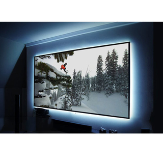 China 180'' 16:9 Edge series Fixed frame projection screen with different fabric