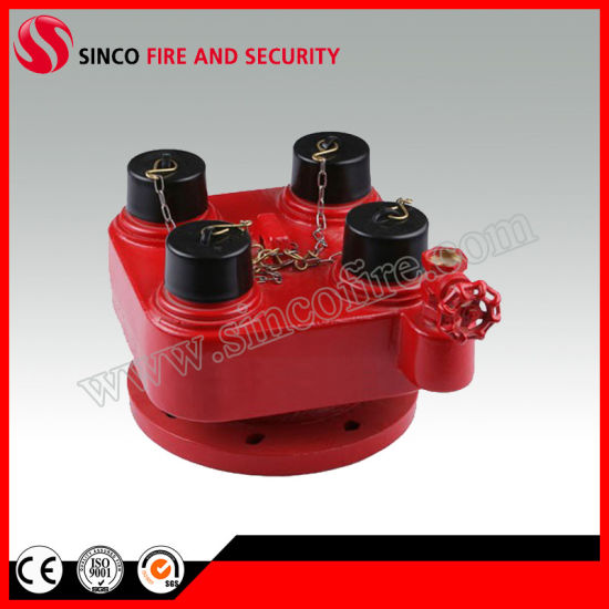 2 Way Breeching Inlet Fire Hydrant Valve