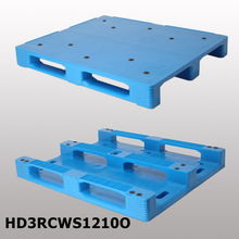 1200*1000*150mm 3 Runners & smooth surface hygeian plastic pallet