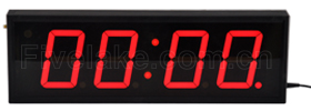 Count-up clock