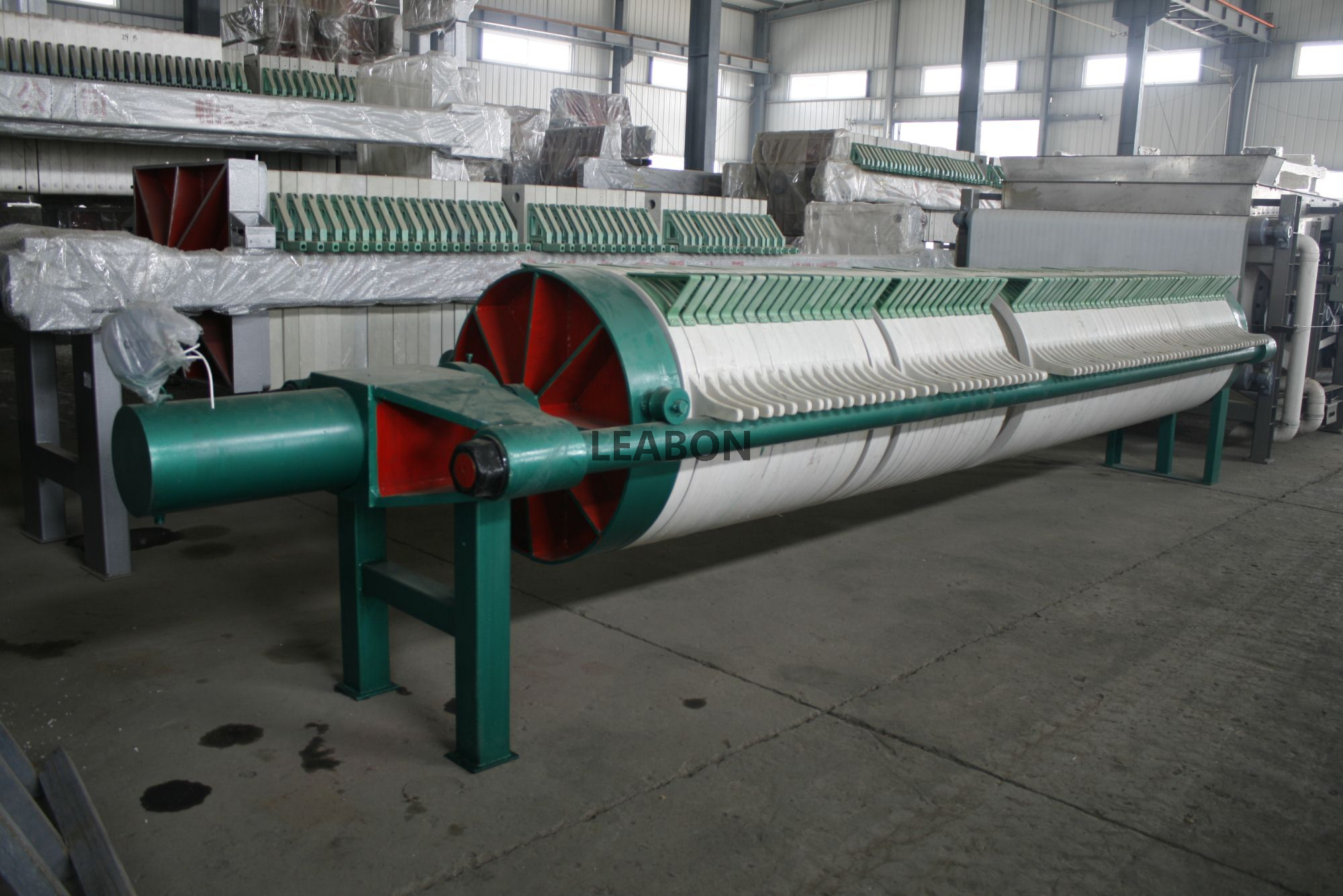 Circular Plate Filter Press For Brewery and Dyeing