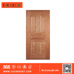3-4.5 mm Nature Wood Veneer Laminated HDF Door Skin