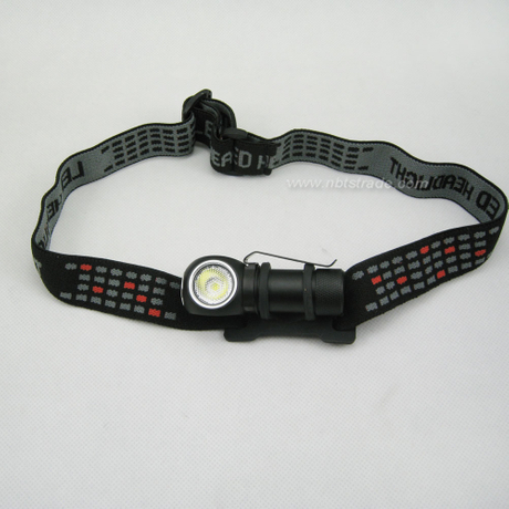 Aluminum 600 Lumen Cool White Small Light Led Headlamp