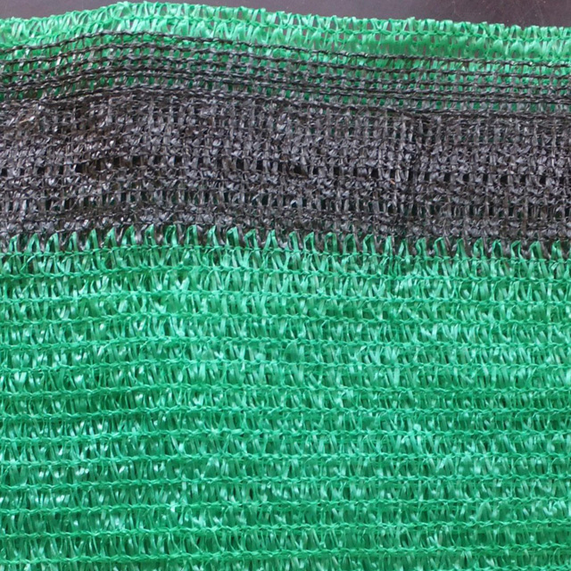 HDPE Flat green color Shade net 90gsm