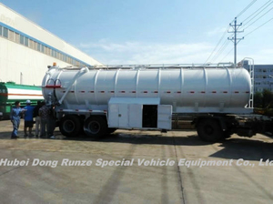 2 Axles Vacuum Tanker Trailer 20cbm