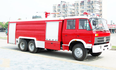 10000liter ~14000L Double Cabin Dongfeng Water Foam Fire Fighting Truck