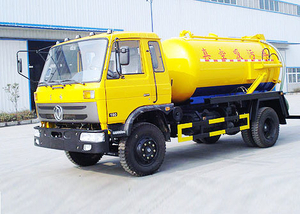8000 Liters Sewage Suction Tanker