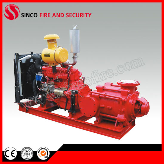 Fire Fighting Water Supply Equipment with Diesel and Electric Pump