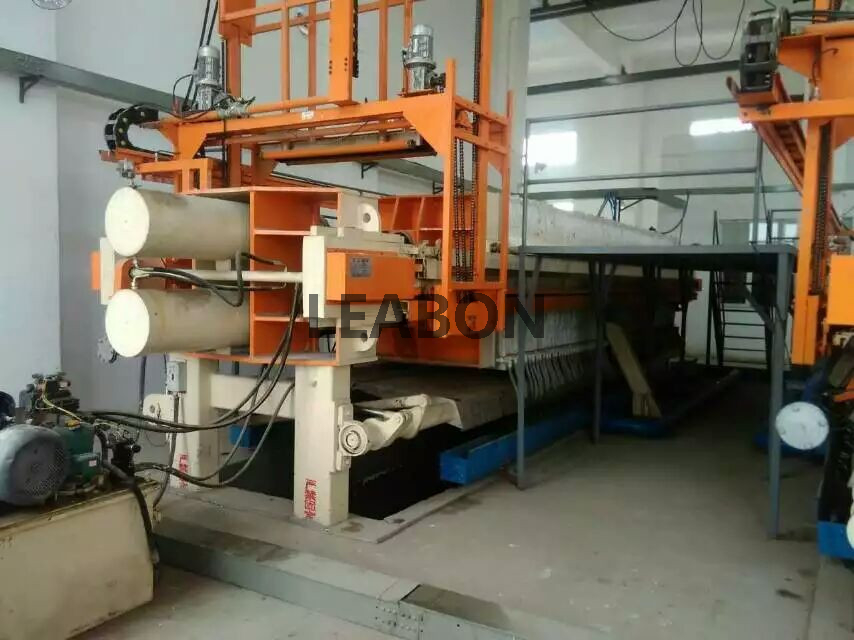 Filter Press With Outer Washing And Discharging