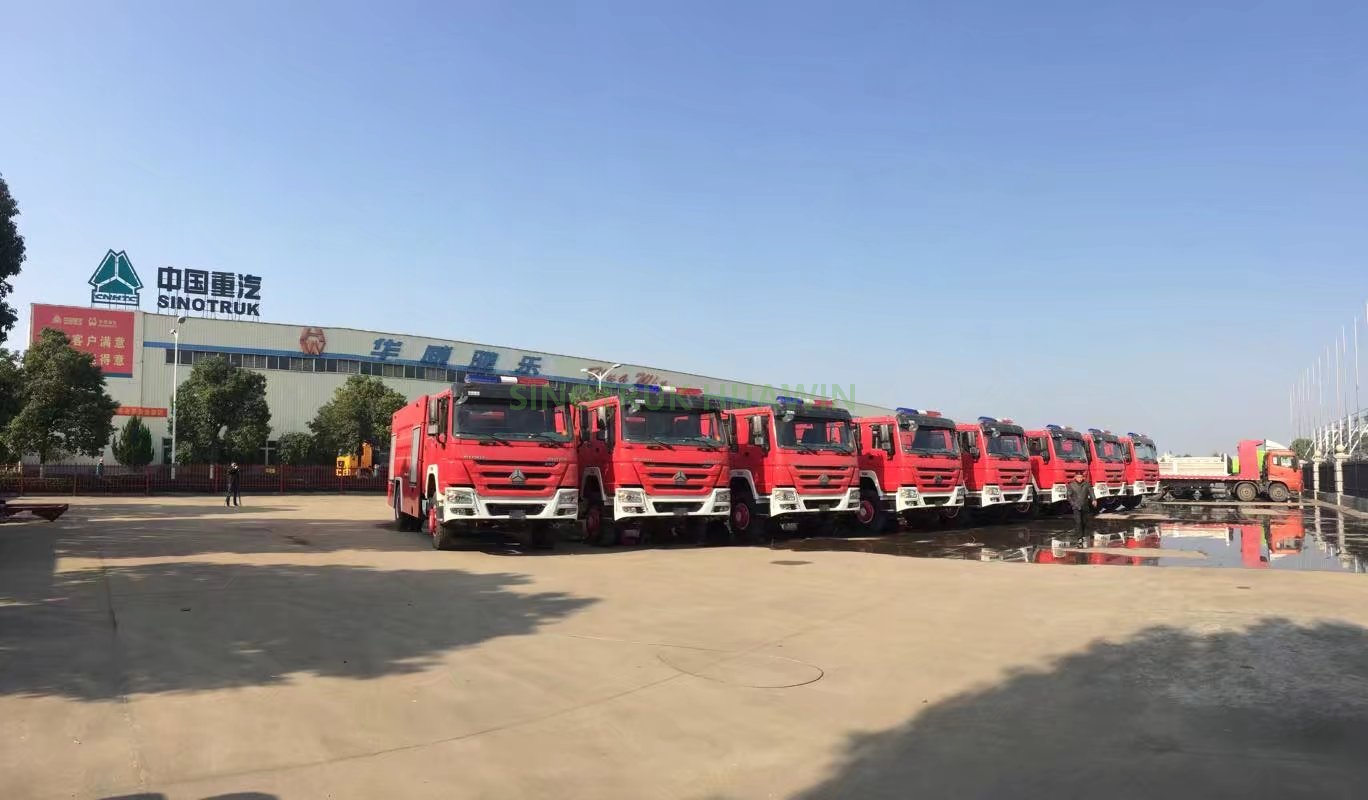 HOWO 4X2 Fire Fighting Truck