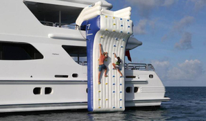 Crazy Inflatable Climbing Wall Water Game For Yacht