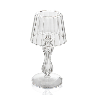 GC0602 Glass Candleholder
