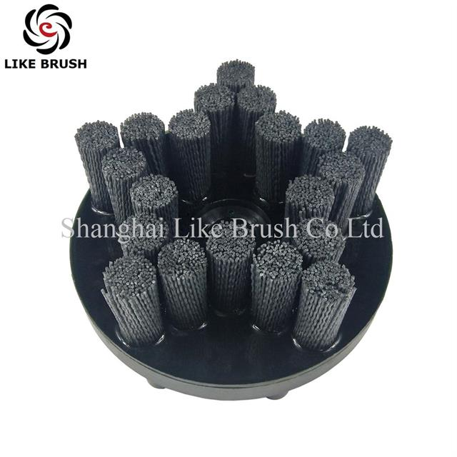 Abrasive Disc Brush 153MM Diameter Star Style