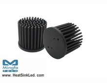 GooLED-LUM-5850 Pin Fin Heat Sink Φ58mm for LumiLEDs